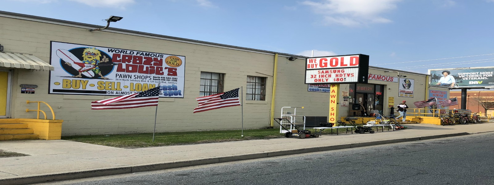 Chain of Pawn Shops Serving Delmarva Over 30 Years - Crazy